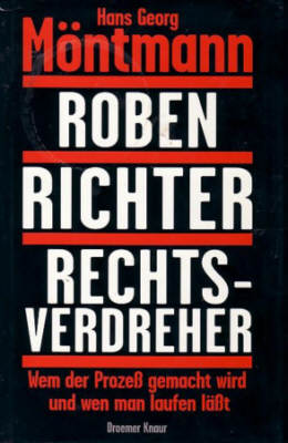 Möntmann, Roben, Richter , Rechtsverdreher